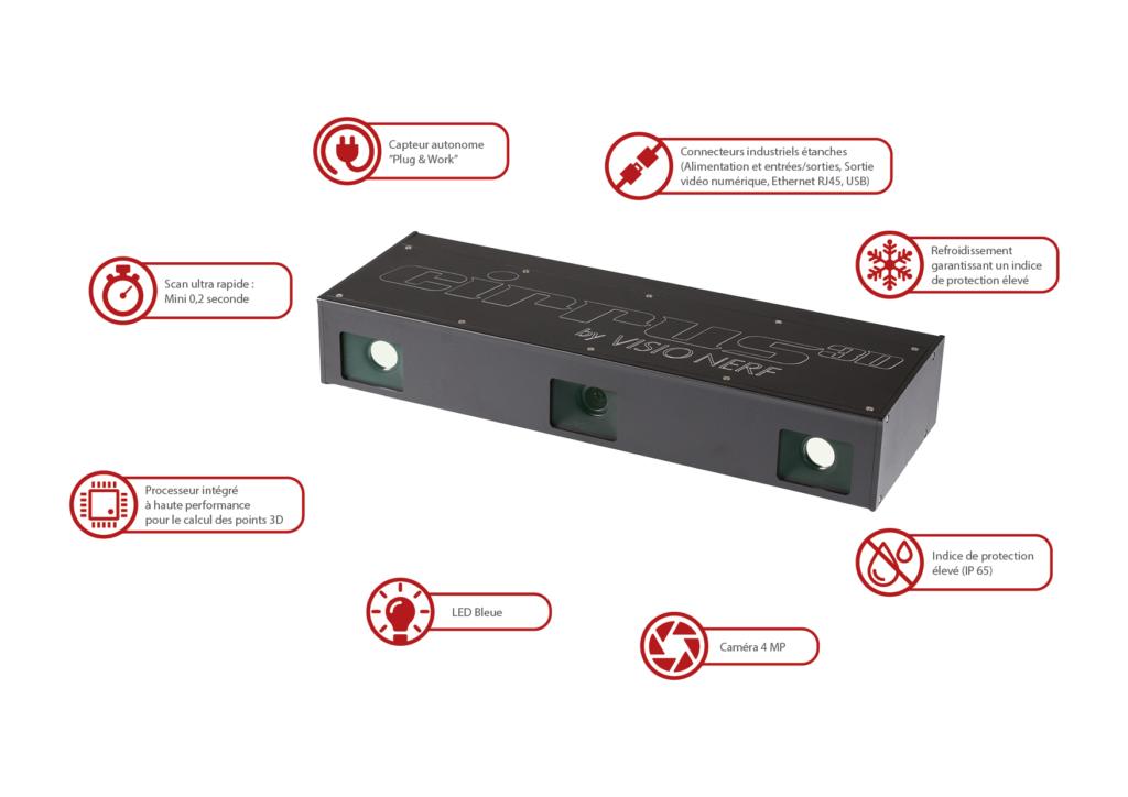 Cirrus 3D Sensor - Bin picking