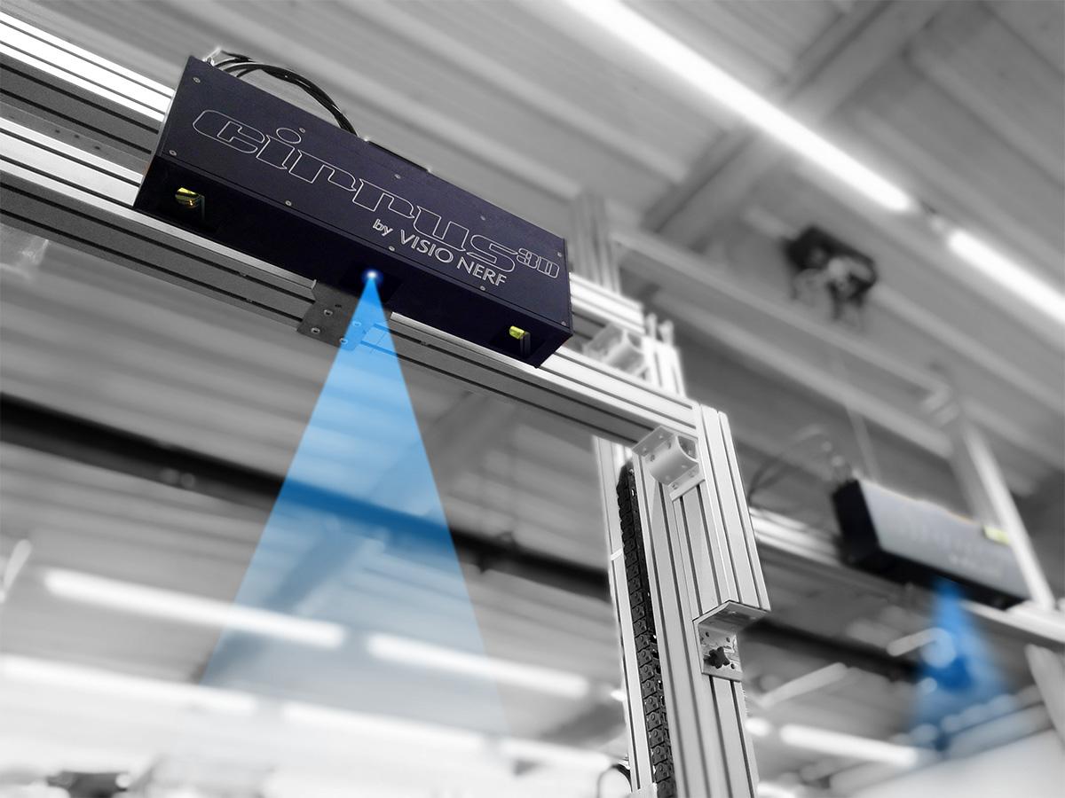 VISIONERF - CIRRUS 3D - 3D Robotic solutions