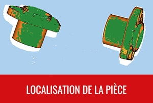 Localisation 3D - Localisation de la pièce